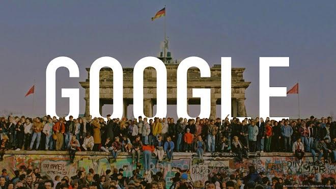 google_berlin_duvarinin_yikilisinin_25_yili_logosu