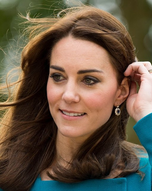 Catherine, Duchess Of Cambridge Visited Warminster