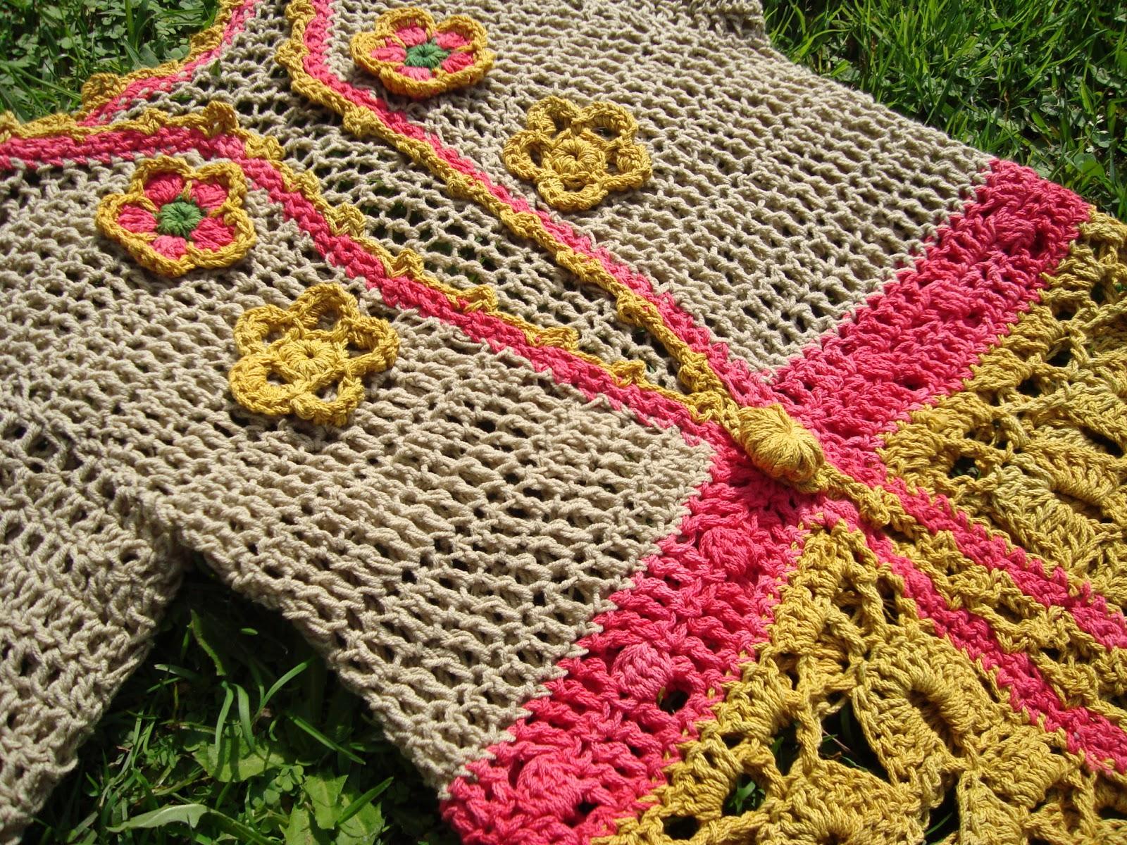 Saquito Tejido Crochet