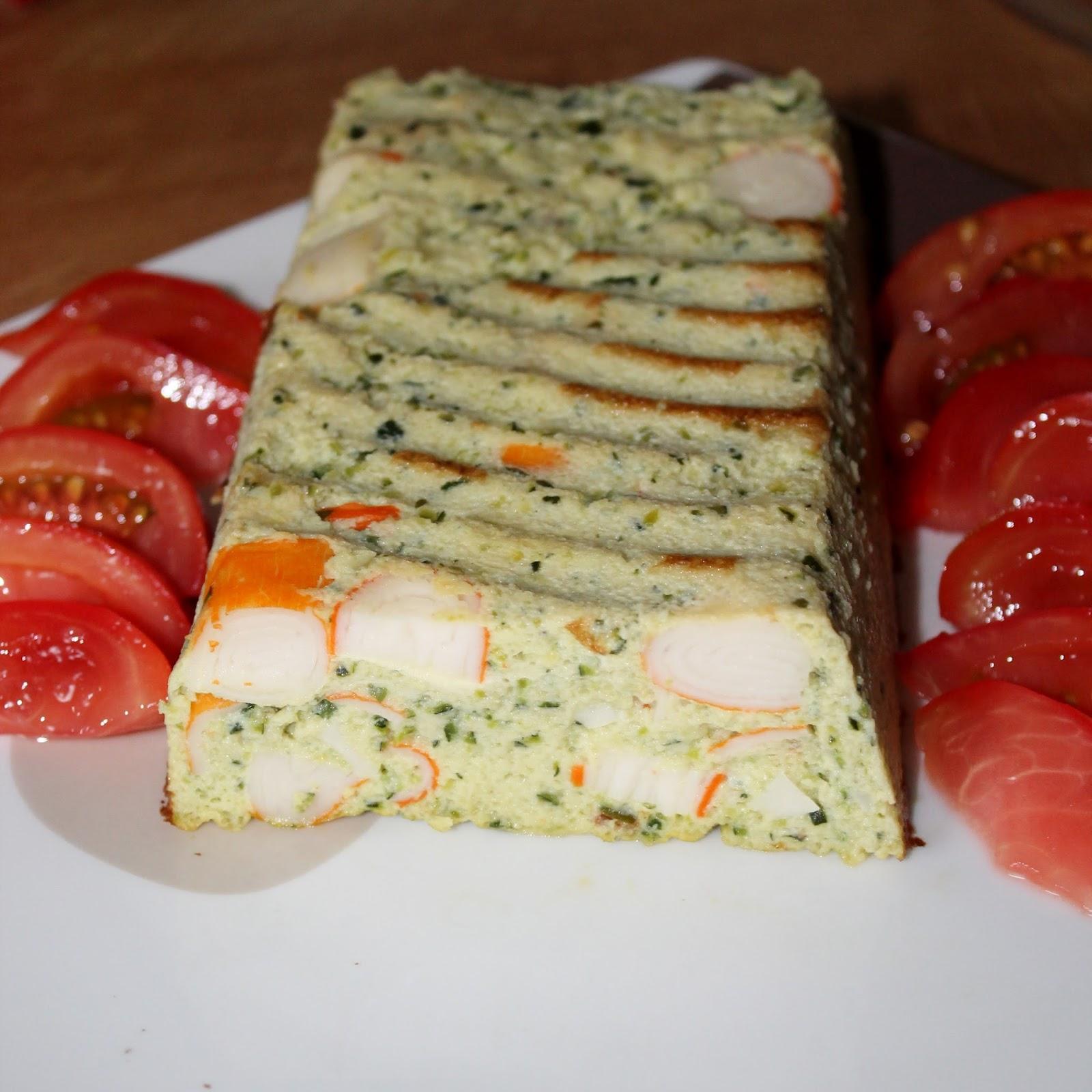 Cake Surimi Olives Thermomix