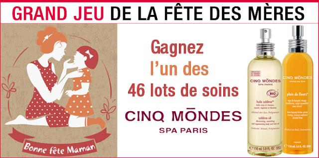 46 lots de 2 soins Cinq Mondes à Paris