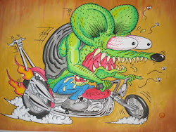 Rat Fink by Kenji Ink me