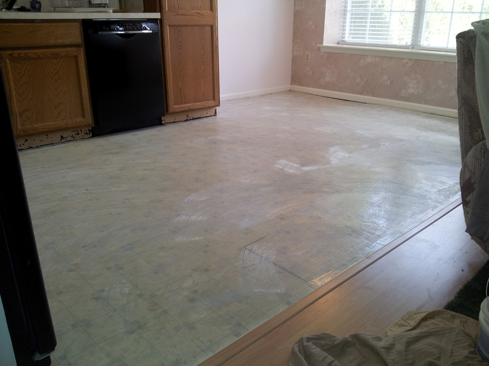 worries ease plank kitchen using vinyl stain floors in your food by congoleum blog flooring