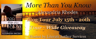 Blog Tour: Book Review + Giveaway – More Than You Know by Alexandria Rhodes