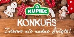 """Konkurs """"Zdrowe nie nudne Święta"""" z marką Kupiec!"""