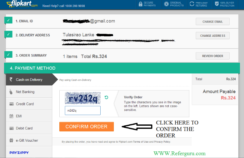 How to Start Buying Product From Flipkart the Online Shopping Site - Step By Step Procedure