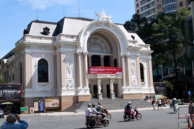 saigon opera , municipal theater ho chi minh