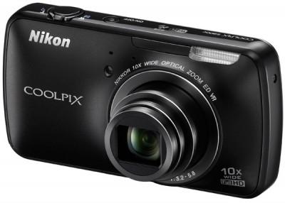 Kamera Nikon Coolpix S800c belakang