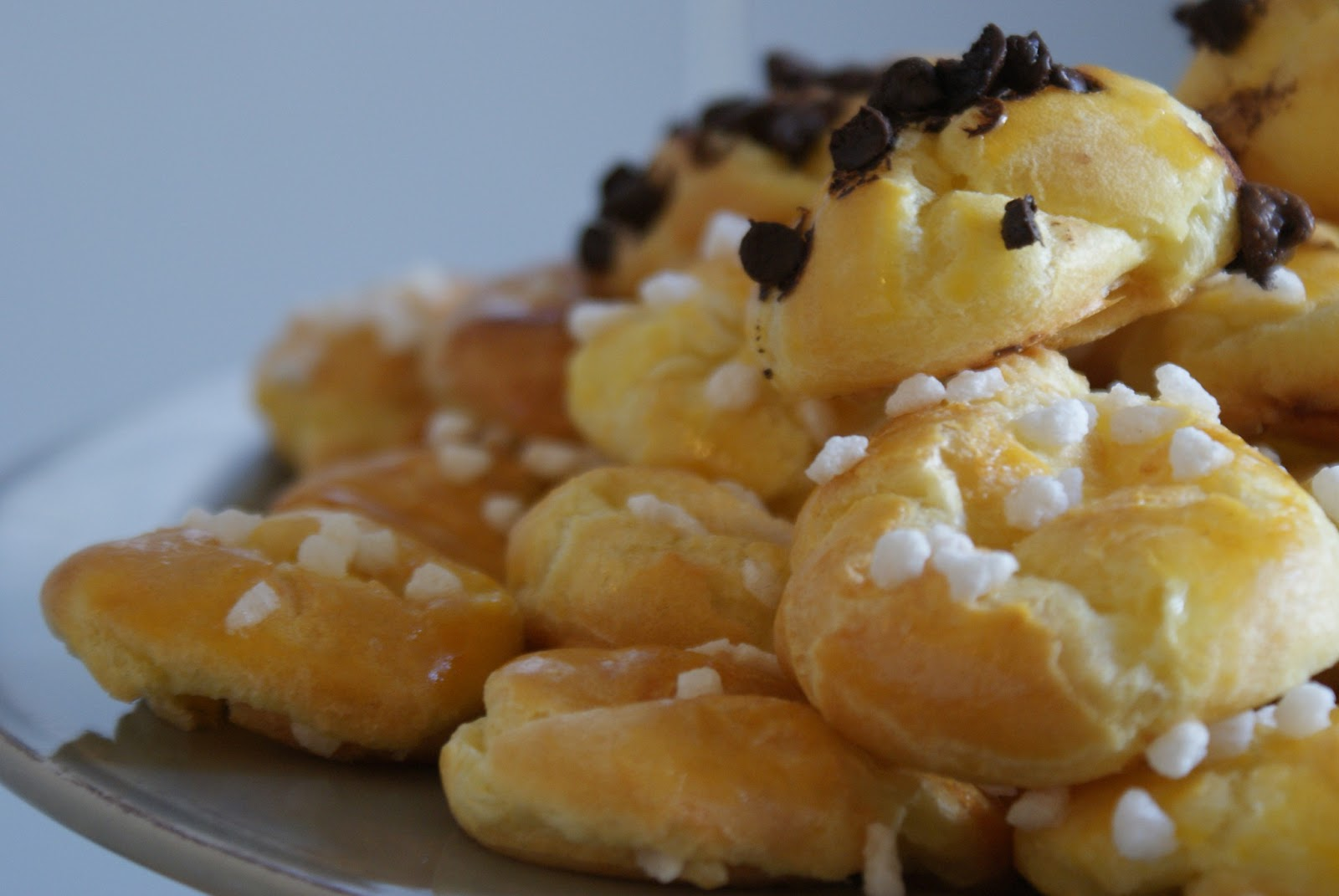 Pomme and co les chouquettes 36 kcal l 39 unit - Calories pistaches grillees ...