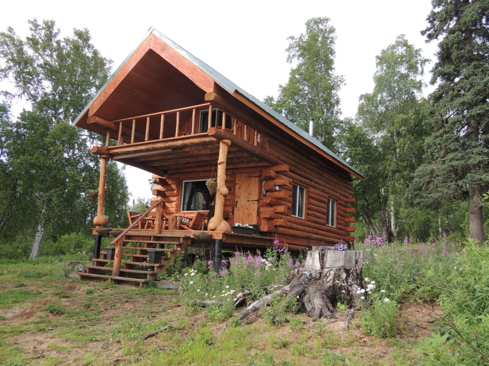 Alaska bush life off road off grid want to buy a remote for Alaska cottage