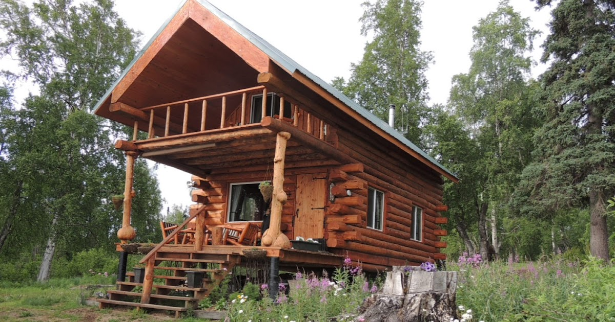 sale cabin original alaska log fairbanks cabins sided rent made rooms in for alaskan white from spruce cozy
