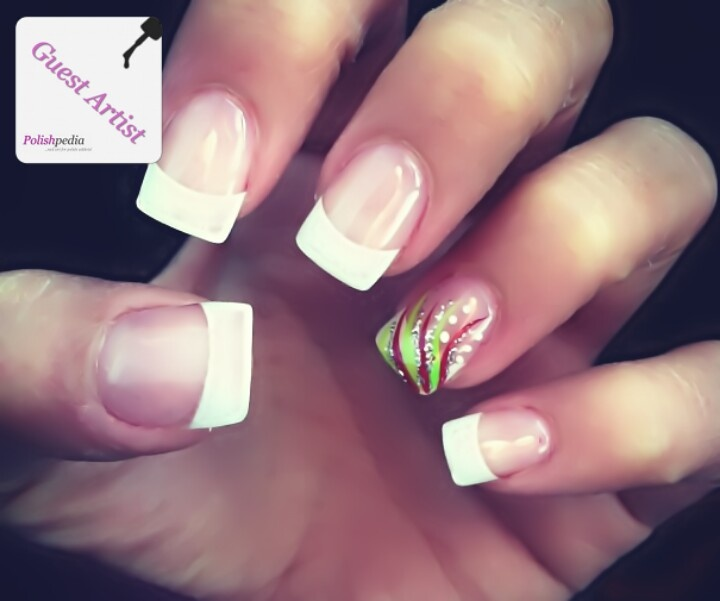 White Tip Designs White Tip Nail Designs