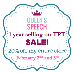 http://www.teacherspayteachers.com/Store/Queens-Speech/