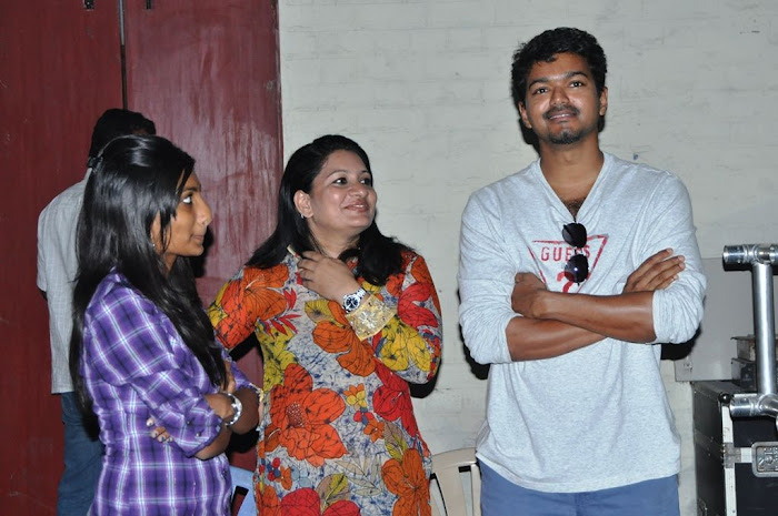 Actor vijay Latest Shooting Spot Stills film pics