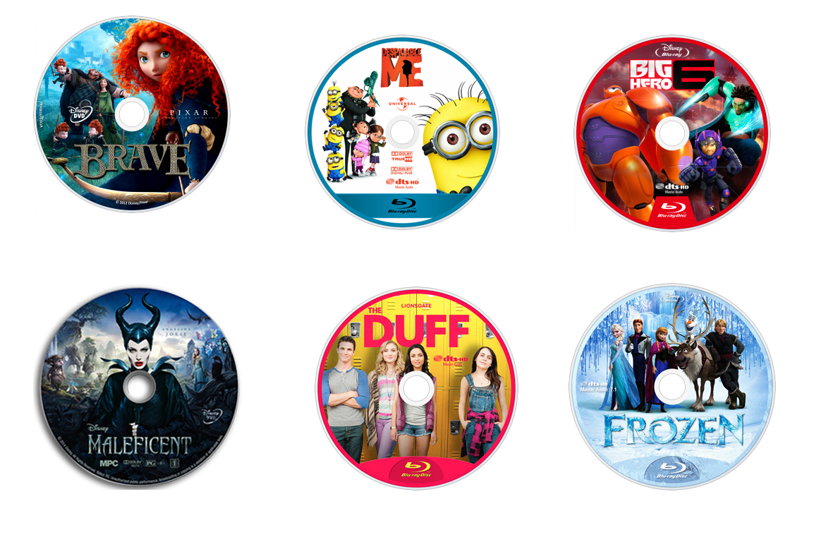 Lively image for printable dvds