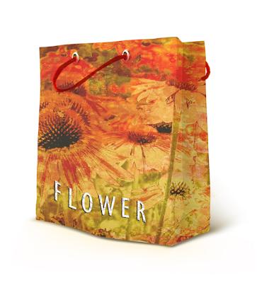 אריזה לחנות בגדים Flower