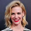 January Jones Medium Wavy Cut Hairstyle Picture