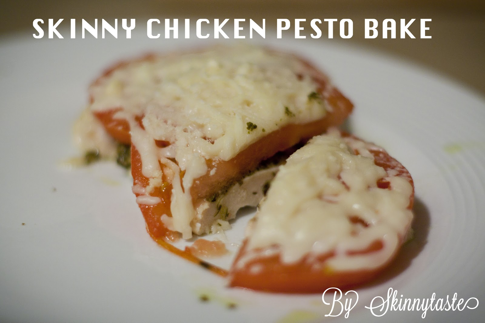 recipe skinny chicken pesto bake from skinnytaste com find the recipe ...