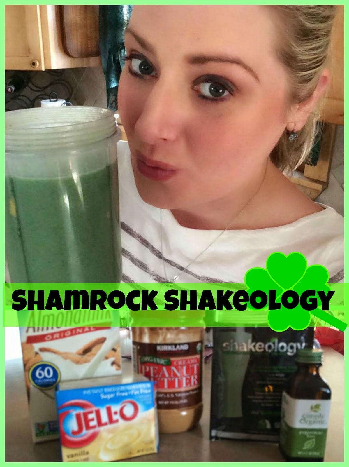 Shamrock Shake, Shakeology, Sara Stakeley, Sarastakeley.com, McDonald's shamrock shake, $4 a day shake,