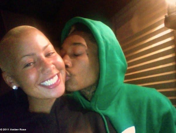 wiz khalifa and amber rose engaged. Pictures: Wiz Khalifa amp; Amber