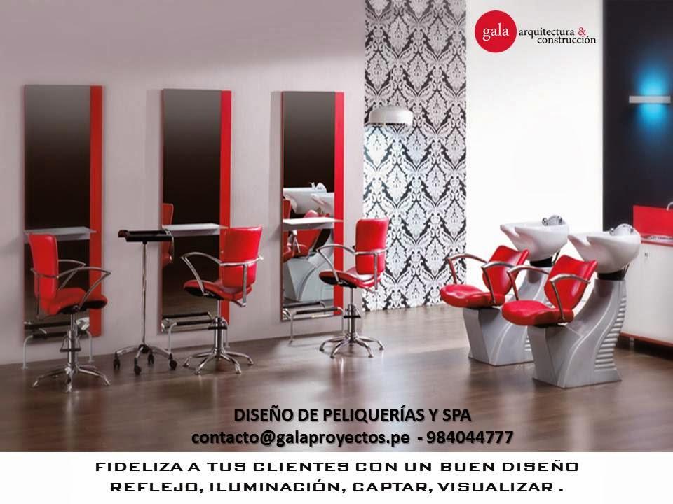 Dise o de peluquer as y spa kn design studio - Diseno peluqueria ...