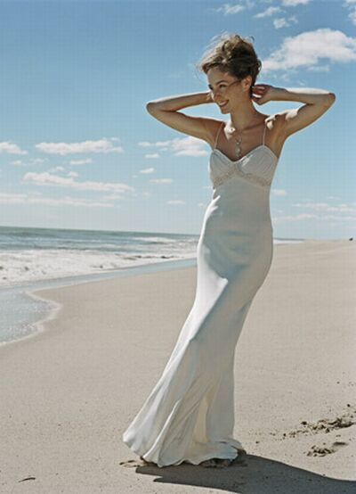 and manufacture of beach wedding dresses are beautiful and easy