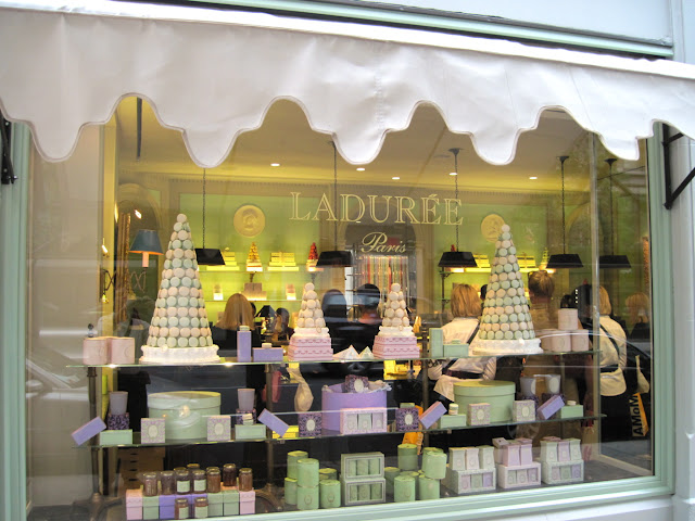 Off the streets of Paris and on to the streets of New York City, Laduree serves delicious cookies to those dining in New York