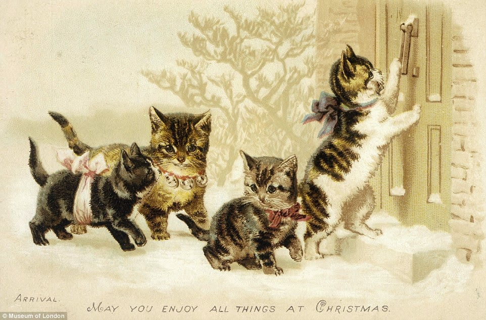 The Holiday Site: Victorian Greeting Cards