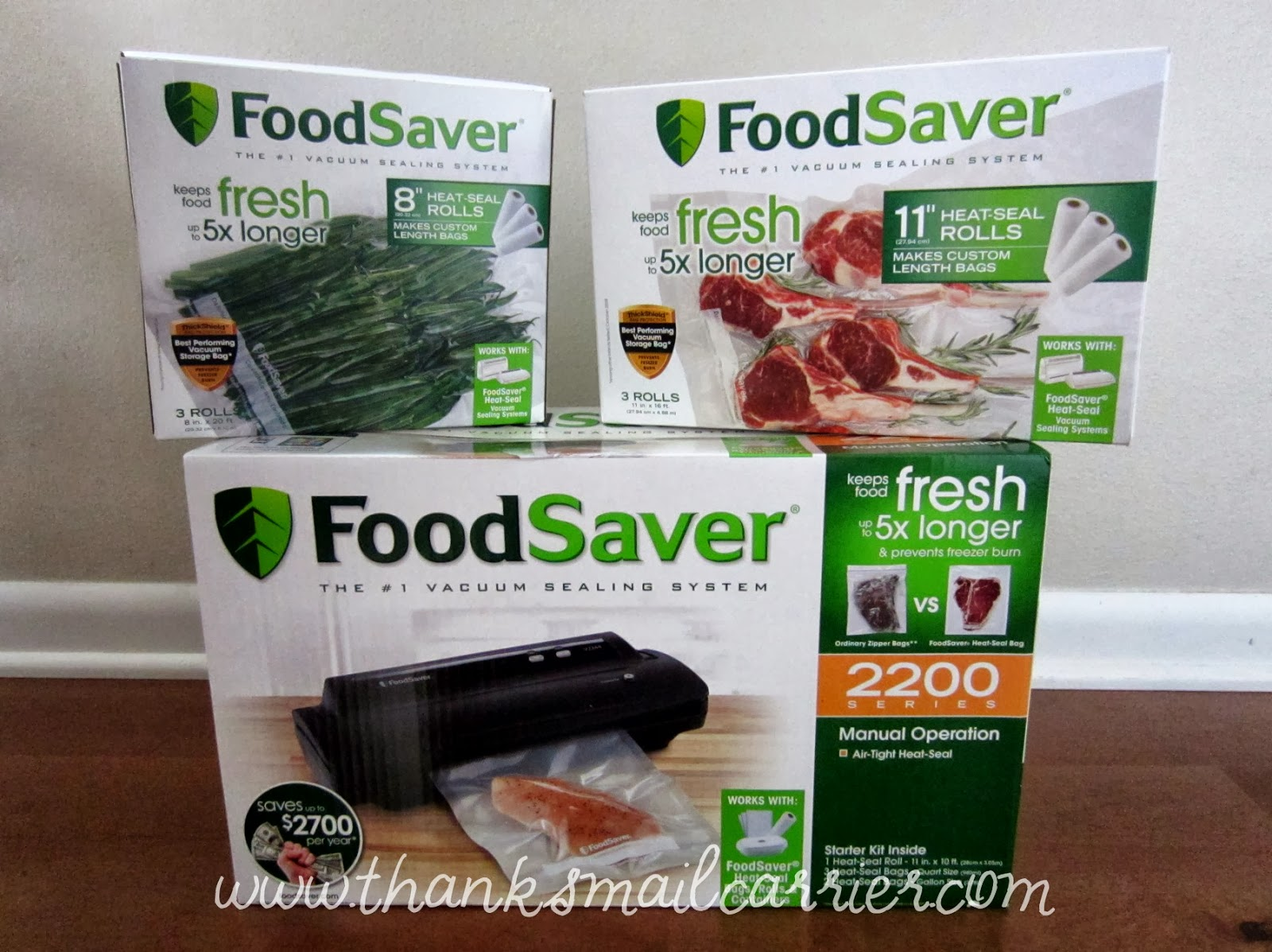FoodSaver Vacuum Sealer and bags
