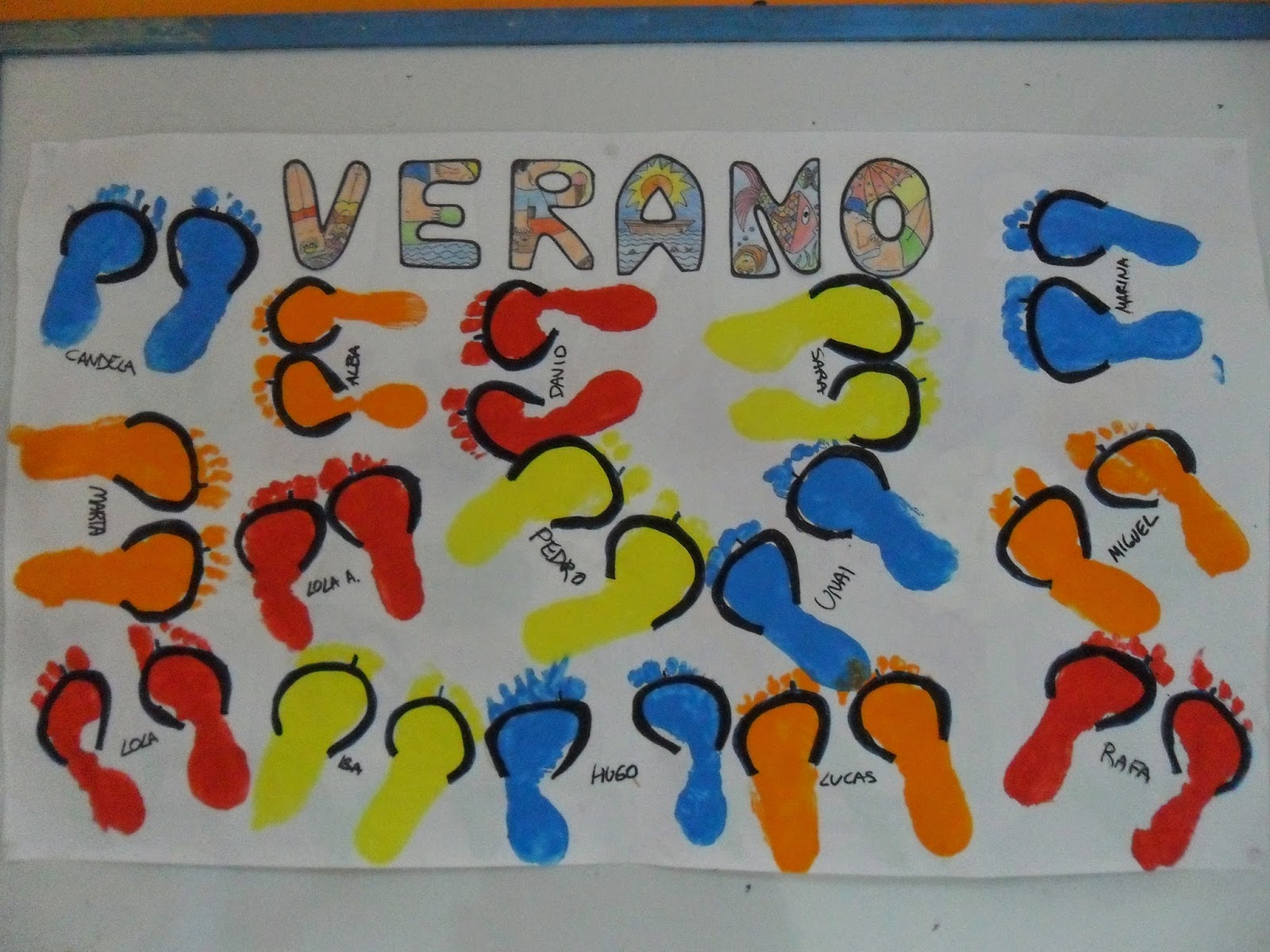 Materiales para educaci n infantil verano verano for Decoracion verano jardin infantil