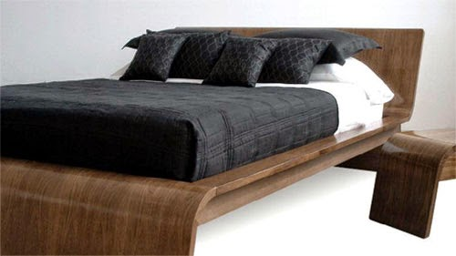 modern bed designs in wood