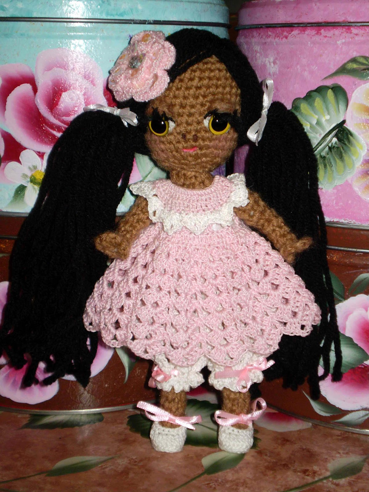 Crochet Mini Doll Pattern : Crochet Doll Miniature Pattern Free Patterns For Crochet