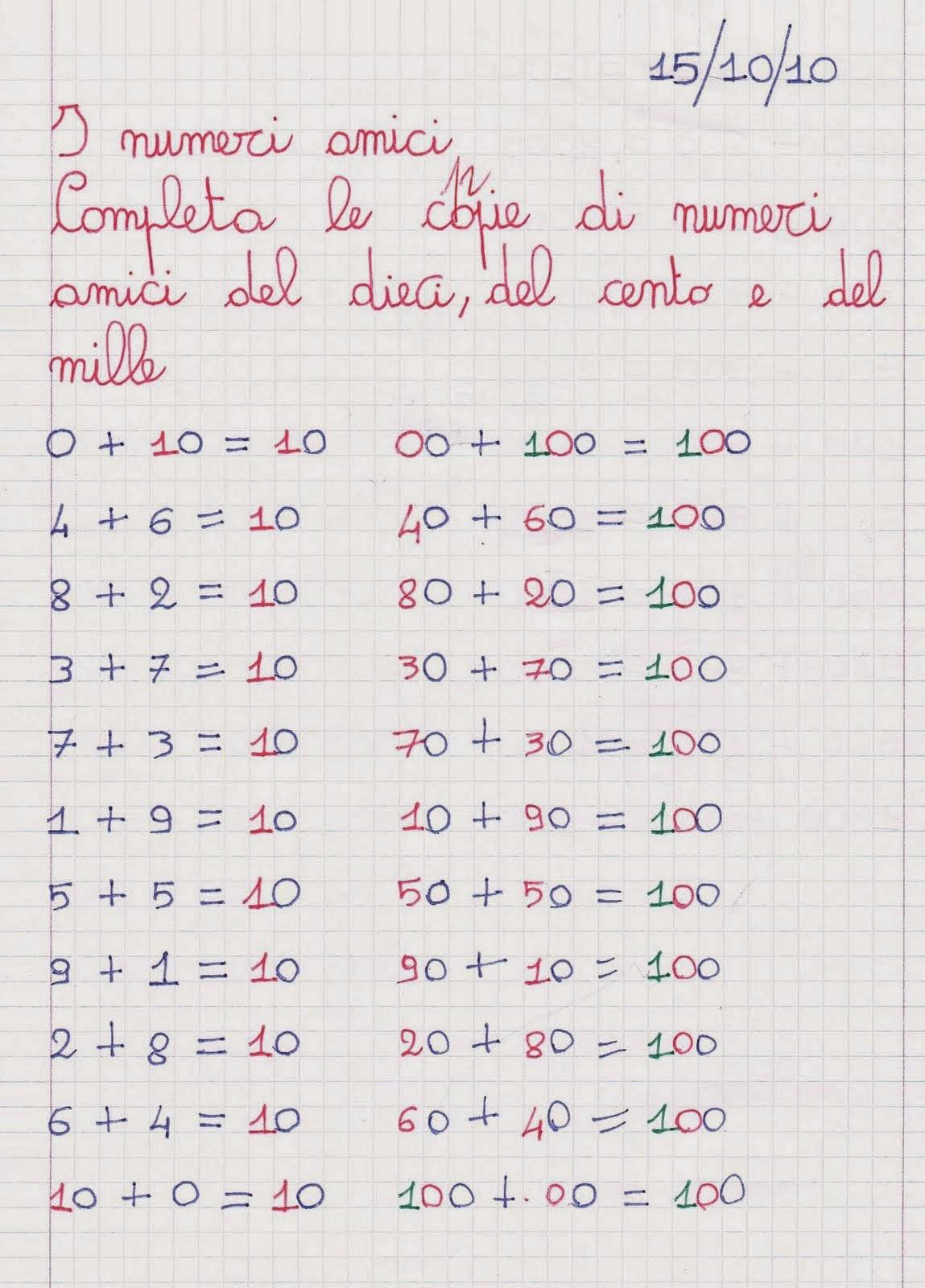 Famoso Numeri Decimali Scuola Primaria Schede MH85 » Regardsdefemmes XX74