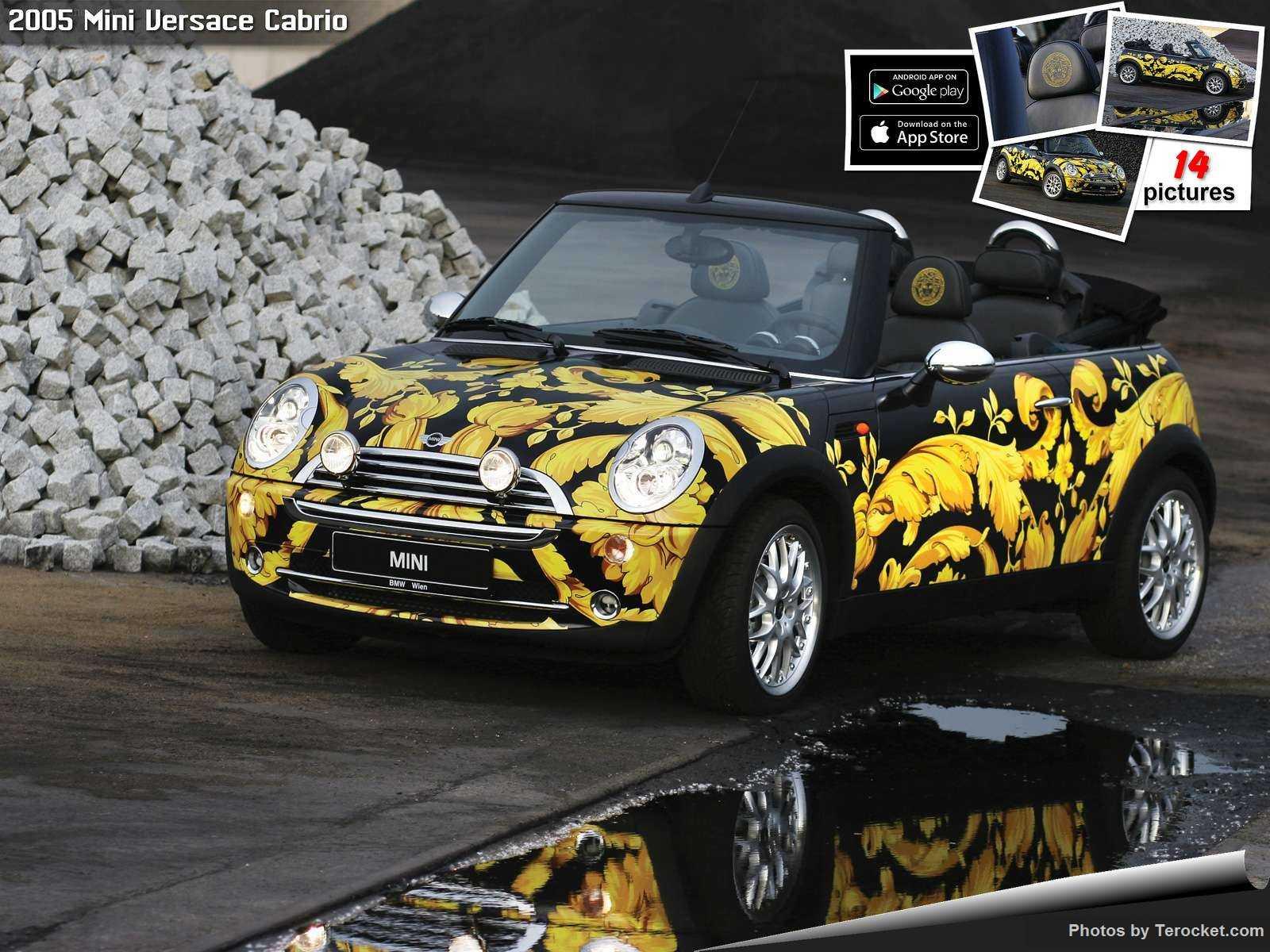 Hình ảnh xe ô tô Mini Versace Cabrio 2005 & nội ngoại thất