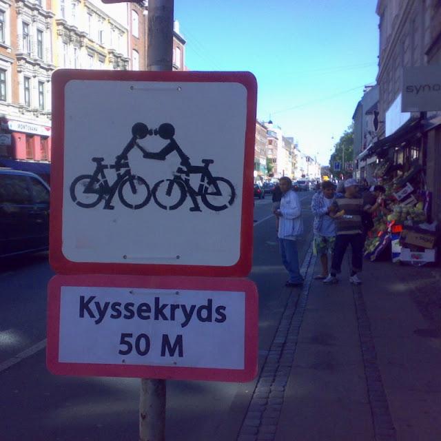Kyssekryds 50 M - Nørrebrogade ved Uffesgade, 2008