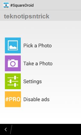 cara membuat foto dp bbm dan instagram full tanpa crop