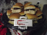 True Blood Party Food Lafayettes AIDS Burgers @ Northmans Party Vamps