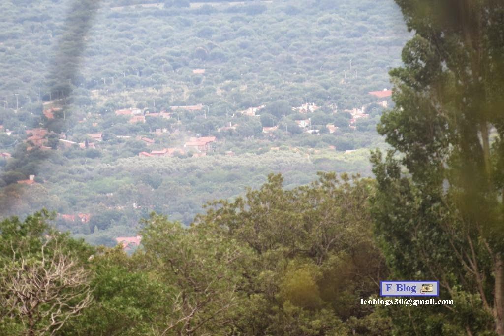 Merlo, San Luis - La ciudad vista desde lejos