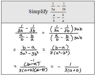 Printables Complex Fractions Worksheet openalgebra com complex rational expressions method 2 multiply the numerator and denominator of fraction by lcd all simple fractions then factor cancel if possible