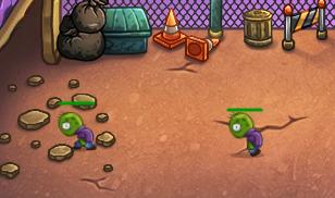 chơi game bắn Zombie tấn công