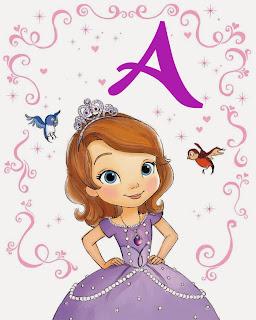Alfabeto Princesa Sofía.