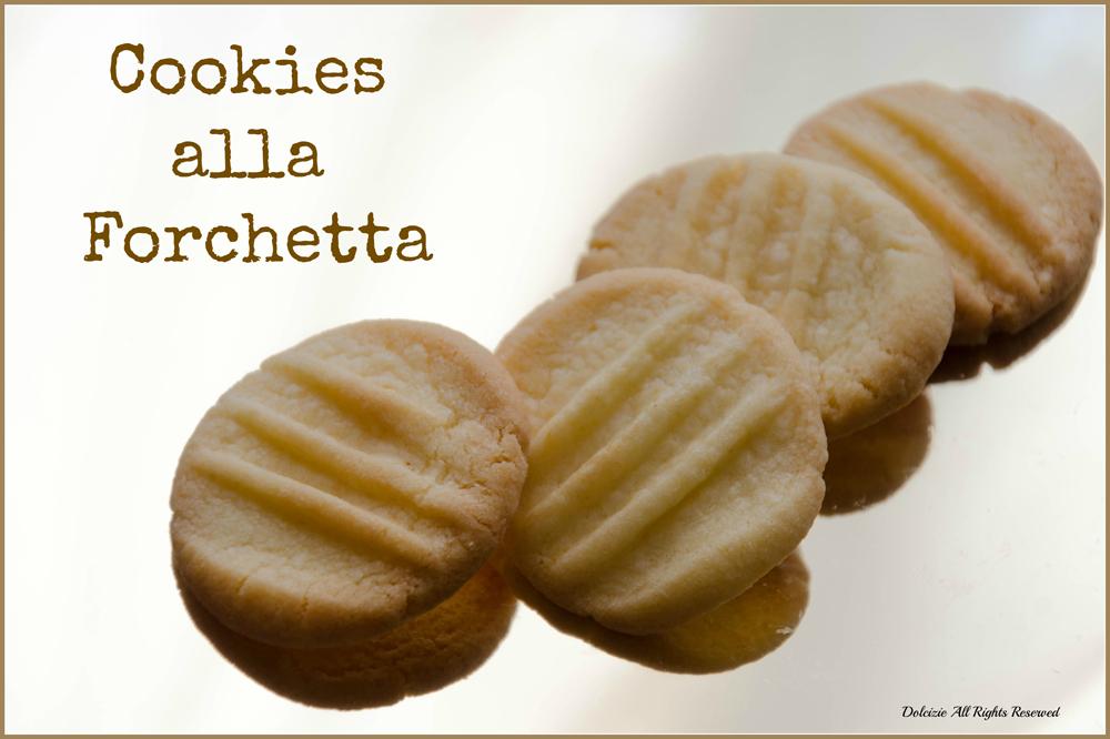cookies alla forchetta