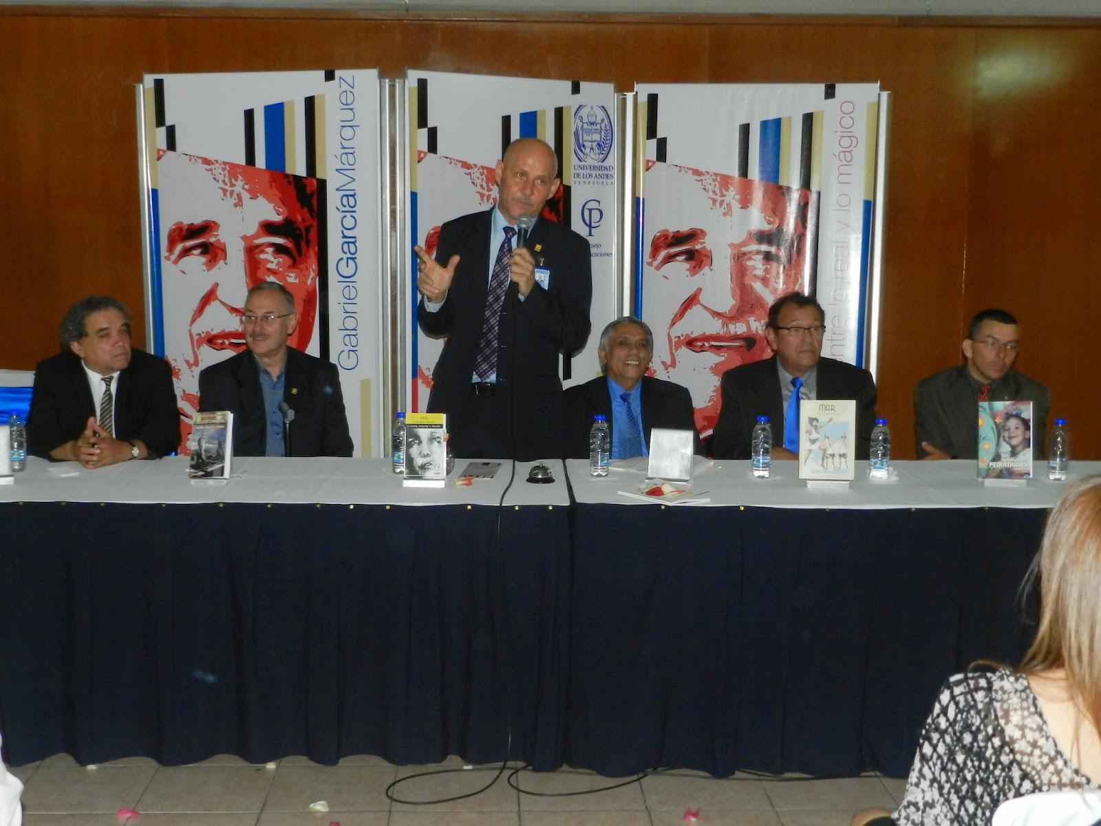 Autoridades universitarias participaron en la presentación de publicaciones del Cdchta, CEP y Daes. (Foto: Nelson Pulido)