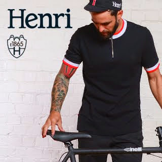 Henri 1865 Stylish cycling wear