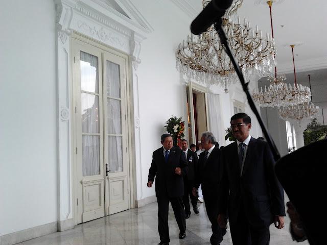 Presiden SBY, kegiatan dan Tamu-tamunya