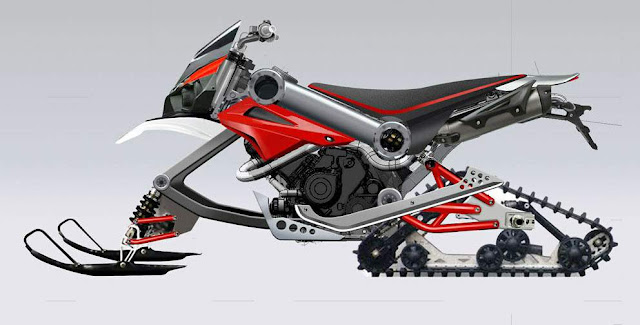 A robusta moto Brutus 750