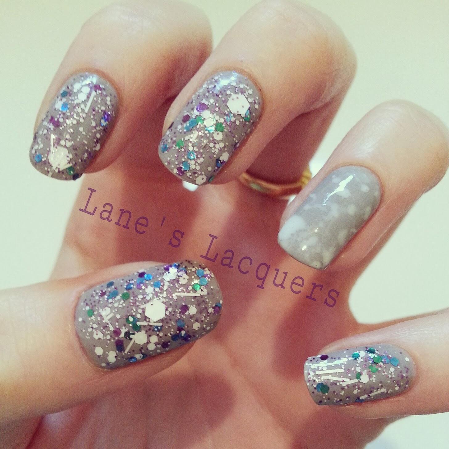 colorshow-street-artist-white-splatter-manicure