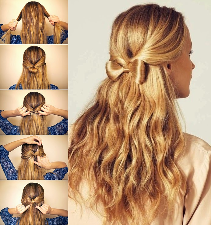 Peinados f ciles y r pidos - Peinados sencillos y faciles ...
