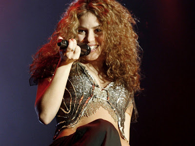 Shakira Pop Singer Wallpapers 01