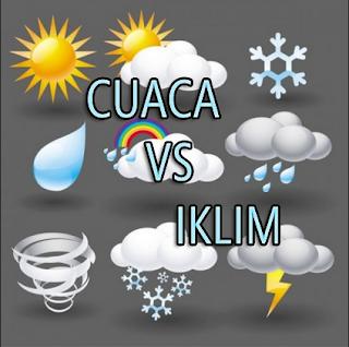 Pengertian dan Perbedaan Cuaca dan Iklim